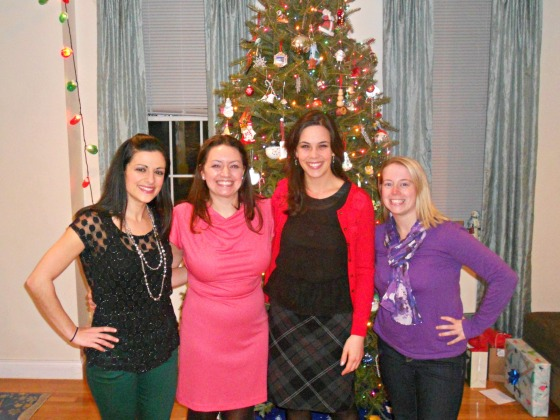 Shannon's Home Friends Christmas Party 2012