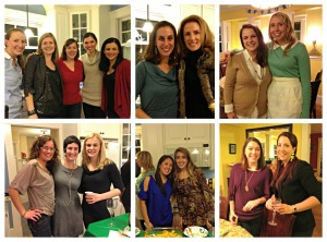 Healthy Holiday Party 2012:  Gym Friends