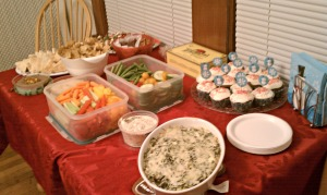 Holiday Party 2012 - Food