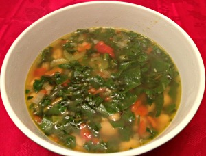 Swiss Chard White Bean Soup