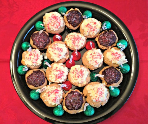 White Chocolate Peppermint Drop Cookies