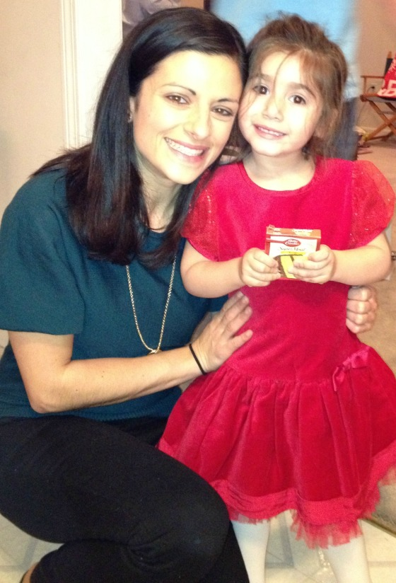 Christmas Day 2012:  Me & Layla