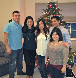 Christmas Day 2012:  Cousins