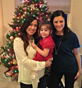 Christmas Day 2012:  Me, Lexa, Layla