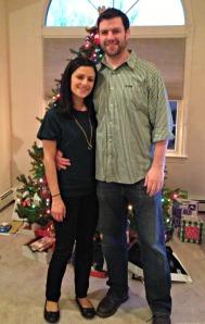 Christmas Day 2012:  Me & Tim