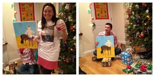friends christmas party 2012 matt theme