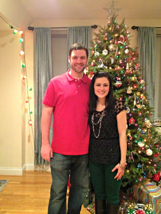 Shannon's Home Friends Christmas Party 2012 Me & Tim