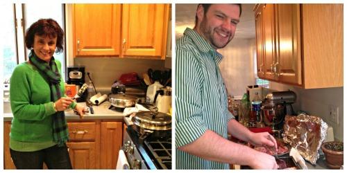 Christmas Day 2012:  Kitchen