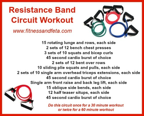 resistance band circuit workout
