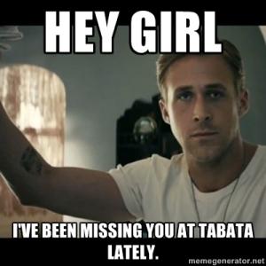 Ryan Gosling Tabata