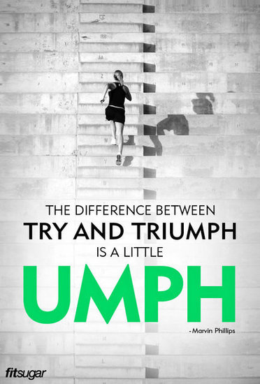 try and triumph
