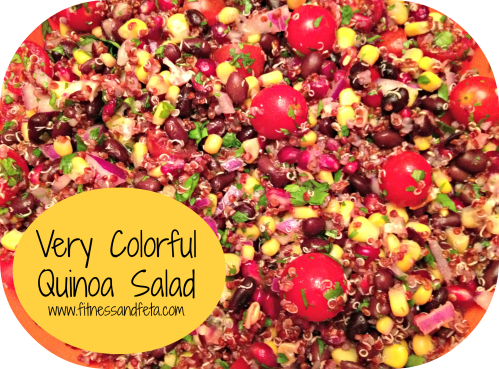 Very Colorful Quinoa Salad