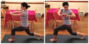 lunge and rotation