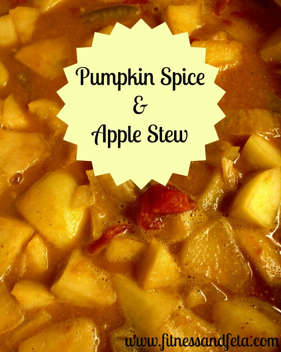 Pumpkin Spice and Apple Stew