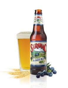 saranac blueberry blonde ale