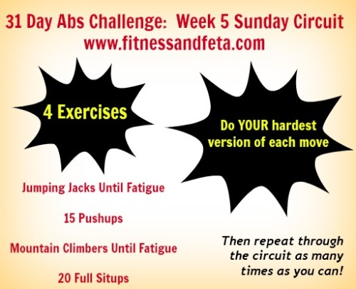 Sunday Circuit Week 5