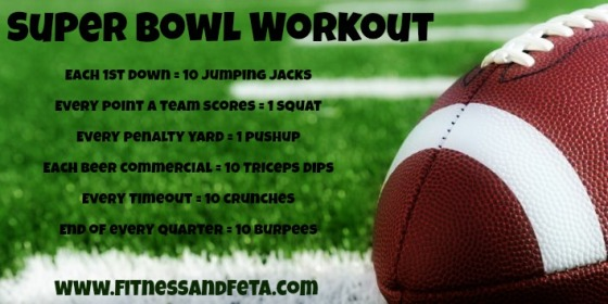 Super Bowl Workout