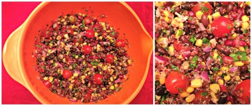 Very Colorful Quinoa Salad