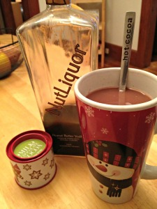 hot chocolate with peanut butter vodka