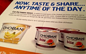 Chobani Delivery