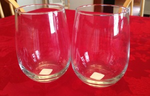 Crate & Barrel Wine Glasses