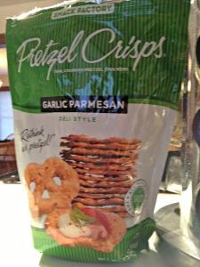 Garlic Parmesan Pretzel Crisps