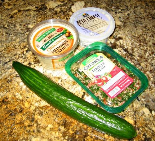 Julia's Mediterranean Dip - Ingredients
