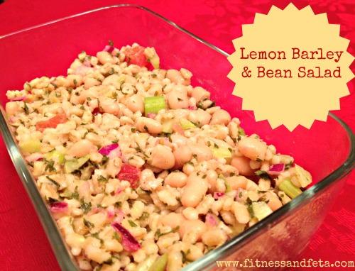 Lemon Barley & Bean Salad