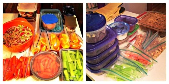 Sunday Food Preparation