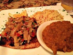 Salmon at Freestones City Grill