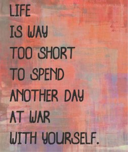 war with yourself
