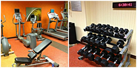 Courtyard Marriott Gym