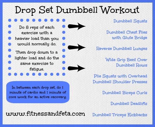 Drop Set Dumbbell Workout
