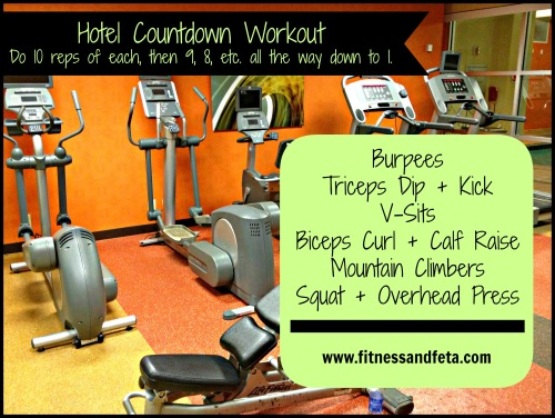 Hotel Countdown Workout