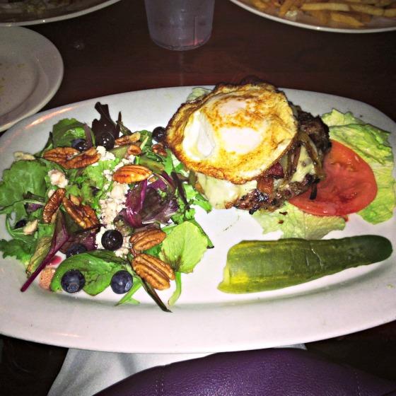 Cross Fit Burger at Lewis'