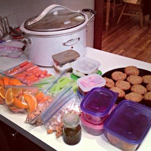 Sunday Night Food Prep