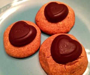 Peanut Butter Sweetheart Cookies