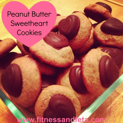 Peanut Butter Sweetheart Cookies