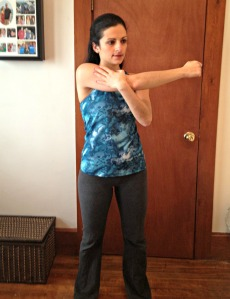 Across the Body Shoulder Stretch