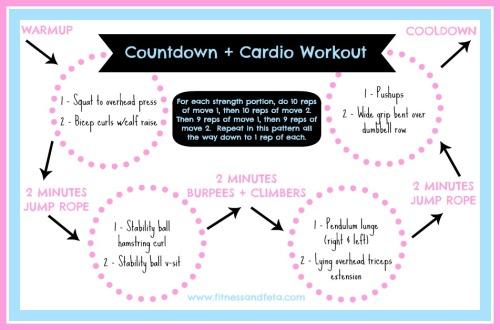 Countdown + Cardio Workout