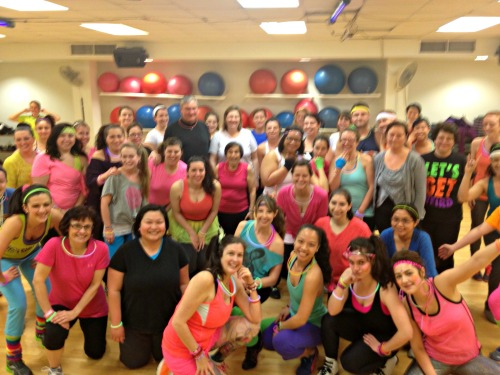 Oak Square YMCA Zumba Party