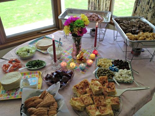 Greek Easter Dinner 2013