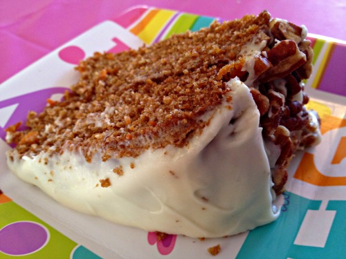 Greek Easter: Carrot Cake