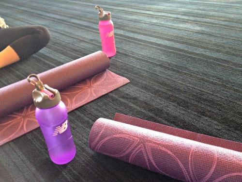Matching yoga mats