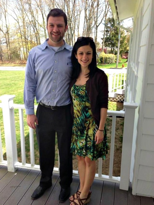 Greek Easter 2013:  Me & Tim