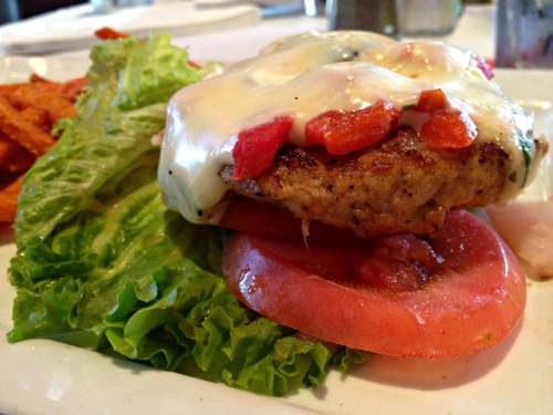 Jerry Remy's Turkey Burger