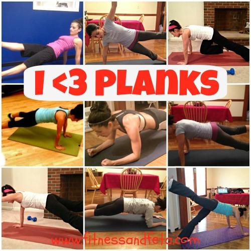 I love planks