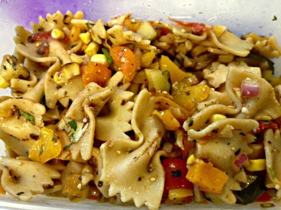 Multigrain pasta salad