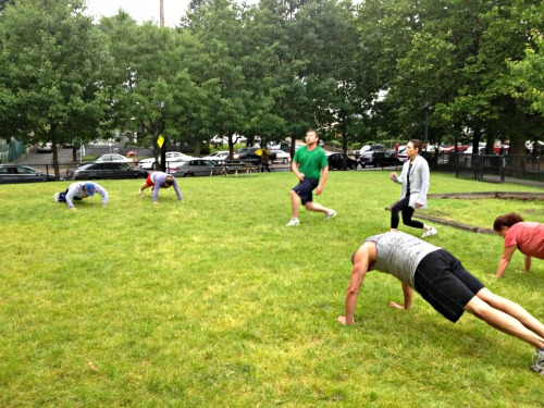 Bootcamp in the Rain 1