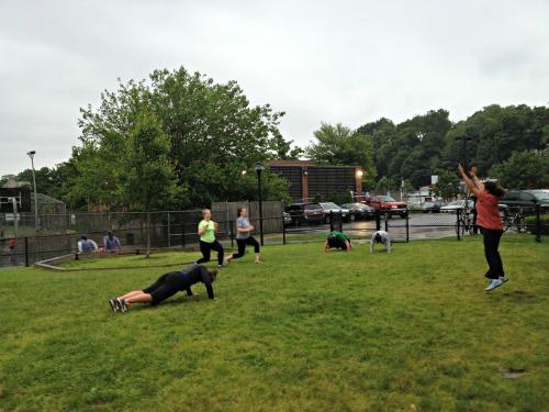 Bootcamp in the Rain 4